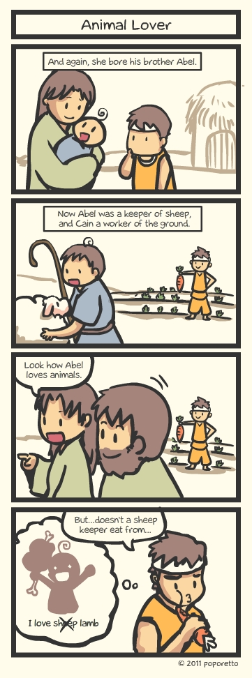 Genesis Bible Comic – Animal Lover