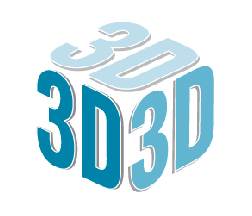 """3D"" laid out to resemble a three-dimensional cube"