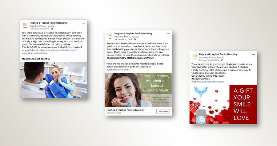 Engaging Fans And Growing Hughes Dentistry With Facebook
