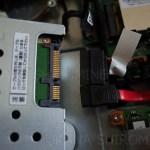 モニタ一体型PCのHDDを交換する