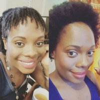 Repairing and protective styling my hair