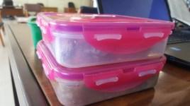 Lunchbox organised