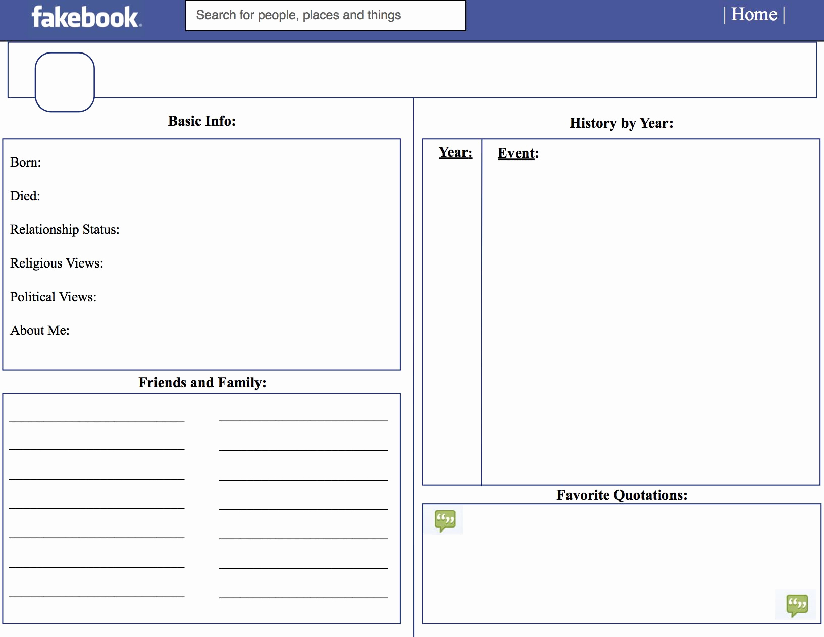 30 Facebook Template For Students