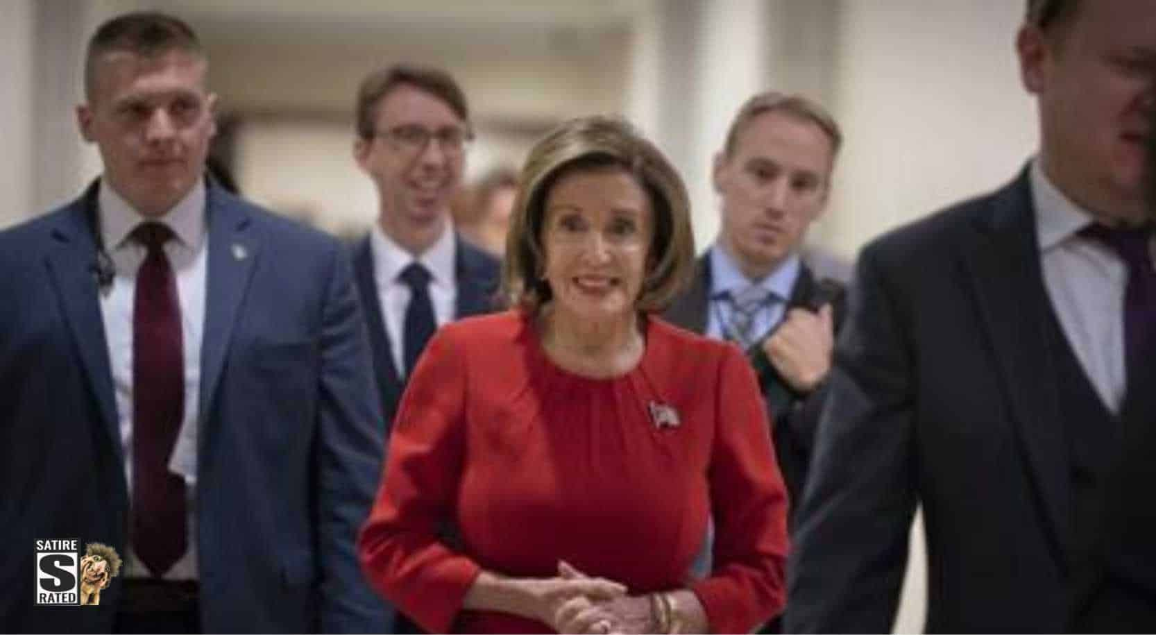 Nancy Pelosi Showed Up To The Impeachment Hearings So Drunk She Fell On Her Face