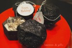 Have your kids been naughty or nice?? — make lump of coal gift boxes