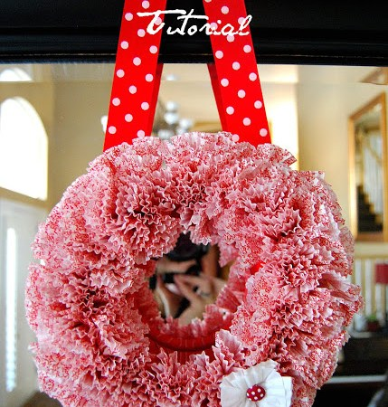 Whimsical Valentine Wreath