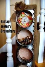 Get Organized with Burlap!