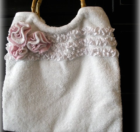 Guest Project: Hand Towel Tote Tutorial