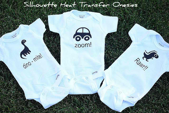 Adorable Baby Gift {using the Silhouette Craft Cutter}