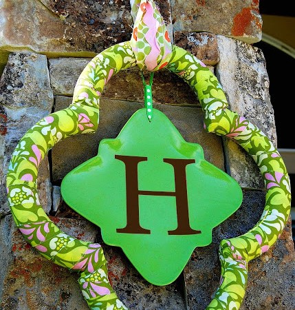 Quatrefoil Wreath Tutorial