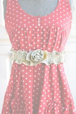 Guest Project — Ruched Rosette Belt Tutorial
