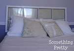 Guest Project: Upholstered Window Pane Headboard