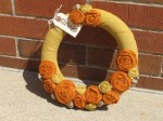 Guest Project — make an Autumn Rosette Wreath!