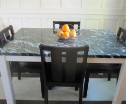 Guest Project U2014 Build A DIY Steel And Marble Dining Room Table!