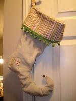 Guest Post – Make Drop Cloth Elf Stockings!!