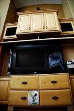 DIY Entertainment Unit Remodel {Update}