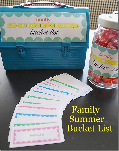 Summer Ideas to do with YOUR kids!