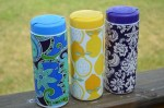 """Summer Social"" Guest Project — Make an Embellished Grocery Bag Container!! {great item to keep in your car}"