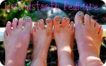 Summer Project — Houndstooth Pedicures!!