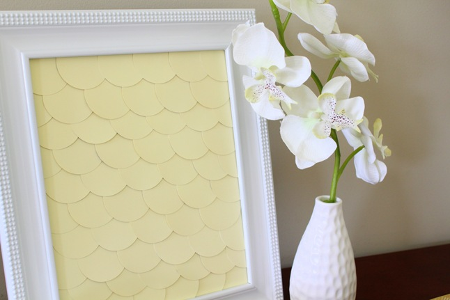 """Summer Social"" Guest Project — Make {FREE} Scalloped Paint Chip Art!"