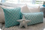 Stenciled Pillows {tutorial} — New Martha Stewart Decorative Paint Line!!