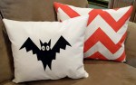 How to Screen Print with Masking Tape {Halloween Pillow Tutorial}!!