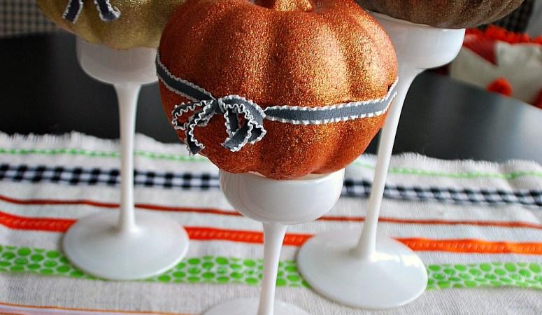 Make an Easy Halloween Ribbon Table Runner!!