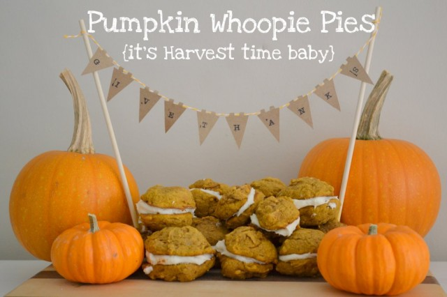 Fall Project — Make Pumpkin Whoopie Pies!! {recipe tutorial}