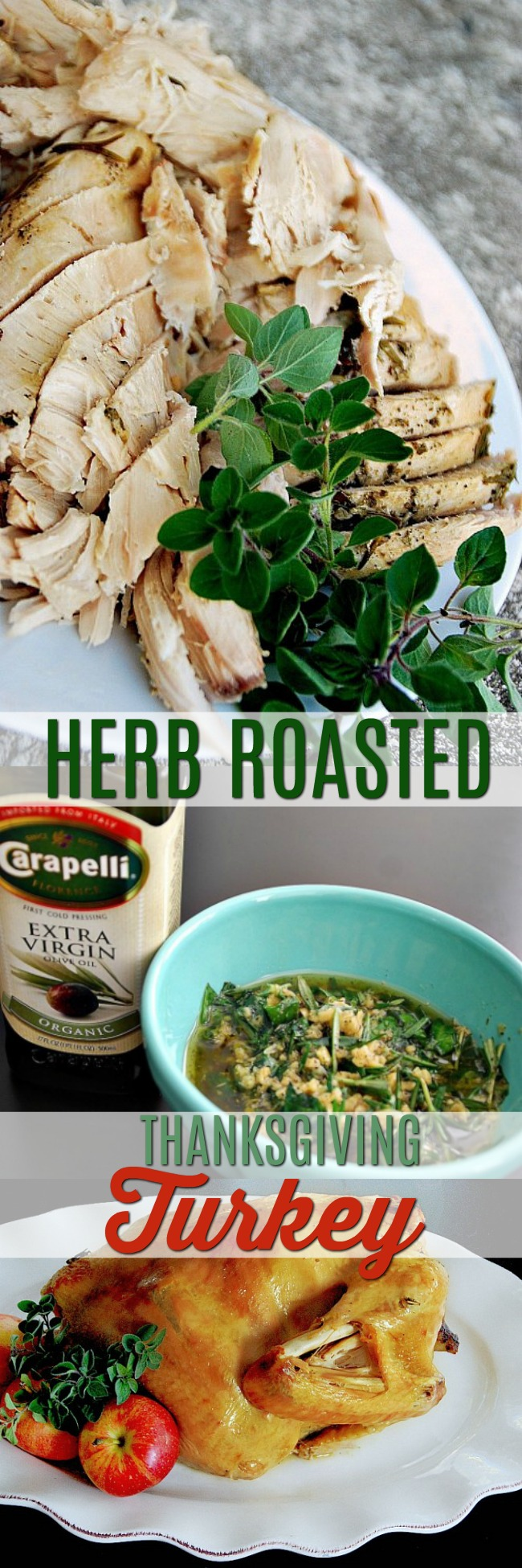 The easiest most flavorful herb-roasted thanksgiving turkey recipe