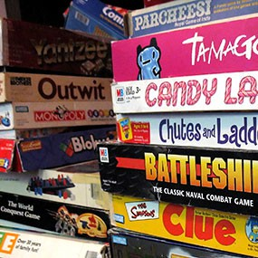 New Years Eve Idea — Game Night with the Kids!!