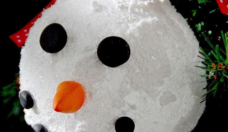Make Sparkly Snowman Ornaments plus 12 of my Favorite Ornament Tutorials!