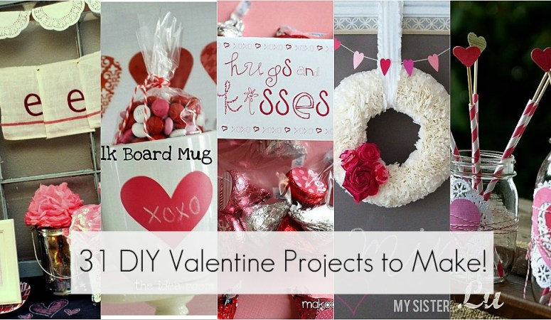 Great Ideas — 31 DIY Valentine's Day Projects to Make!