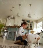 Make DIY Pendant Lights (Kitchen Remodel Project)!