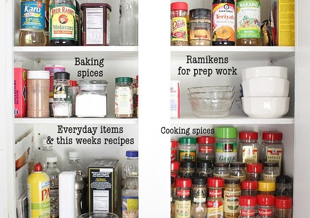 Get Organized in 2012: How to Organize Your Spice Cabinet and Linen Closet Tips!