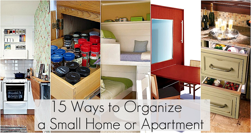 Ideas to Organize Every Area in Your Home! on Small Apartment Organization  id=30824