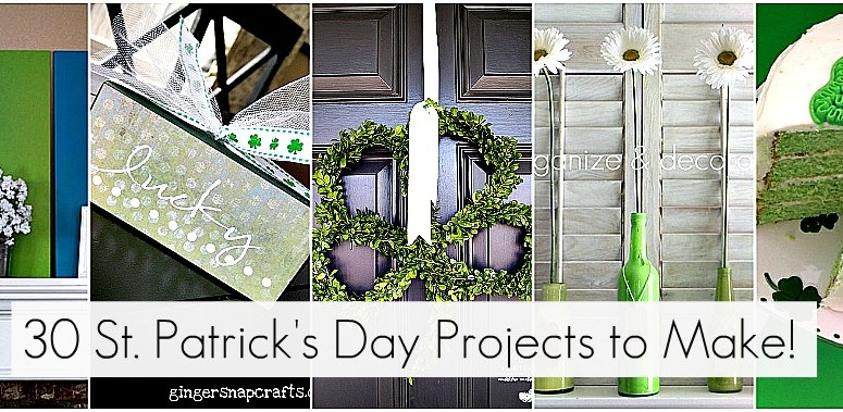 Great Ideas — 30 St. Patrick's Day Projects to Make!!