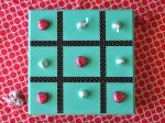 Make a DIY Tic-Tac-Toe Gameboard (tutorial)!!