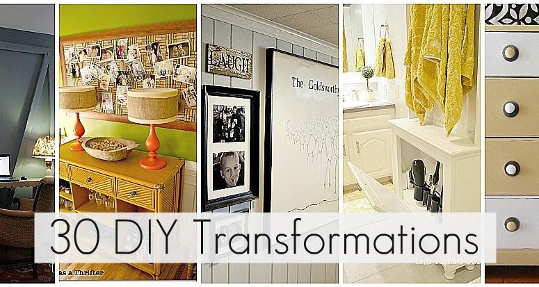 Great Ideas — 30 DIY Transformations!!