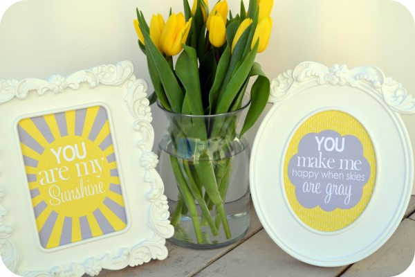 """You Are My Sunshine"" — Free, Spring Printables!!"