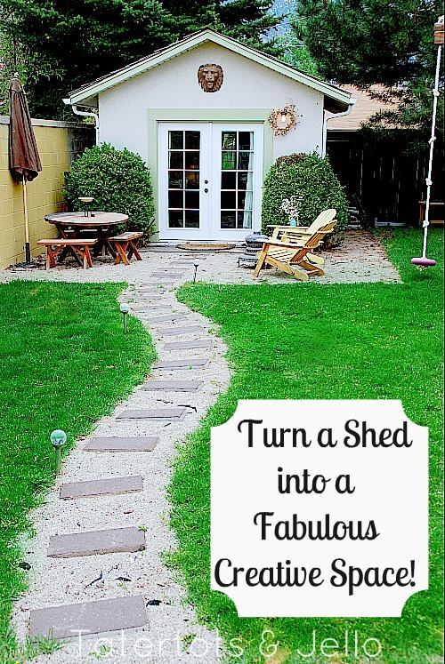 Transform a Shed into a She Shed