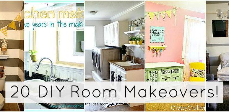Great Ideas — 20 DIY Room Makeovers!!