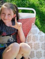 Turn a Napkin into a Pillow Cover in 5 Minutes!! (tutorial)