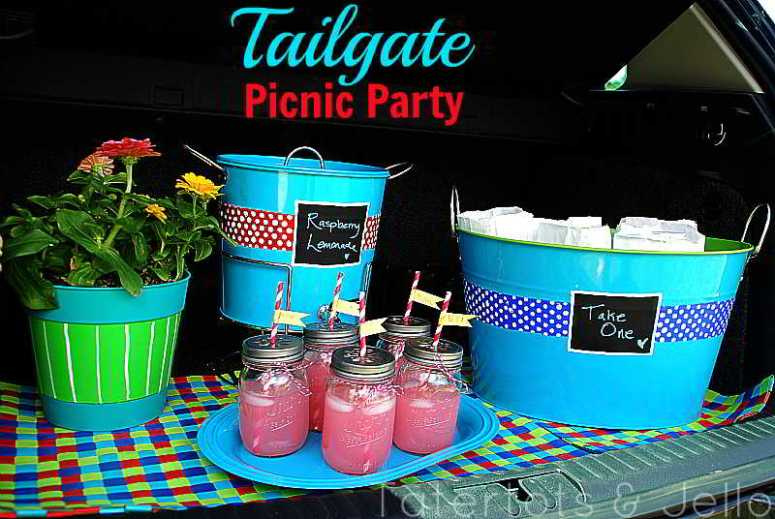 tailgate picnic party ideas