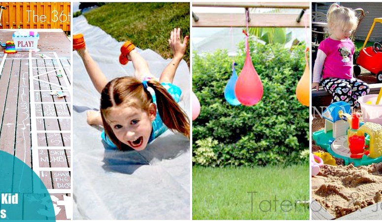 12 FUN Outdoor Projects to Make With Kids!