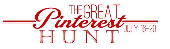 Winners of The Great Pinterest Hunt!!