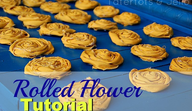 Rolled Flower Tutorial and 11 Rolled Flower Projects to Make!