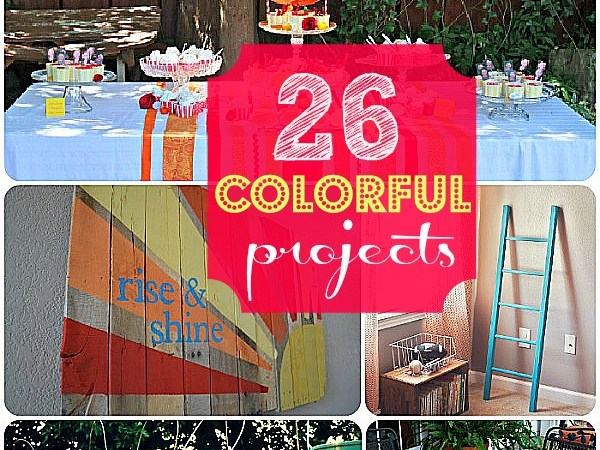 Great Ideas — 26 Ways to Bring COLOR into YOUR Home!