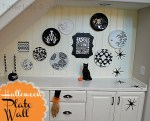 It's Pumpkin Week — DIY Halloween Plate Wall