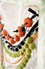 Make a DIY Pumpkin Garland!!