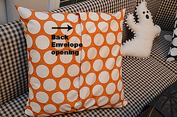 Make Envelope Pillow Covers In 40 Easy Steps Cool Envelope Back Pillow Cover